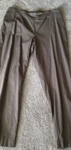 JM collection Brown Pull on Dress Pants Size L